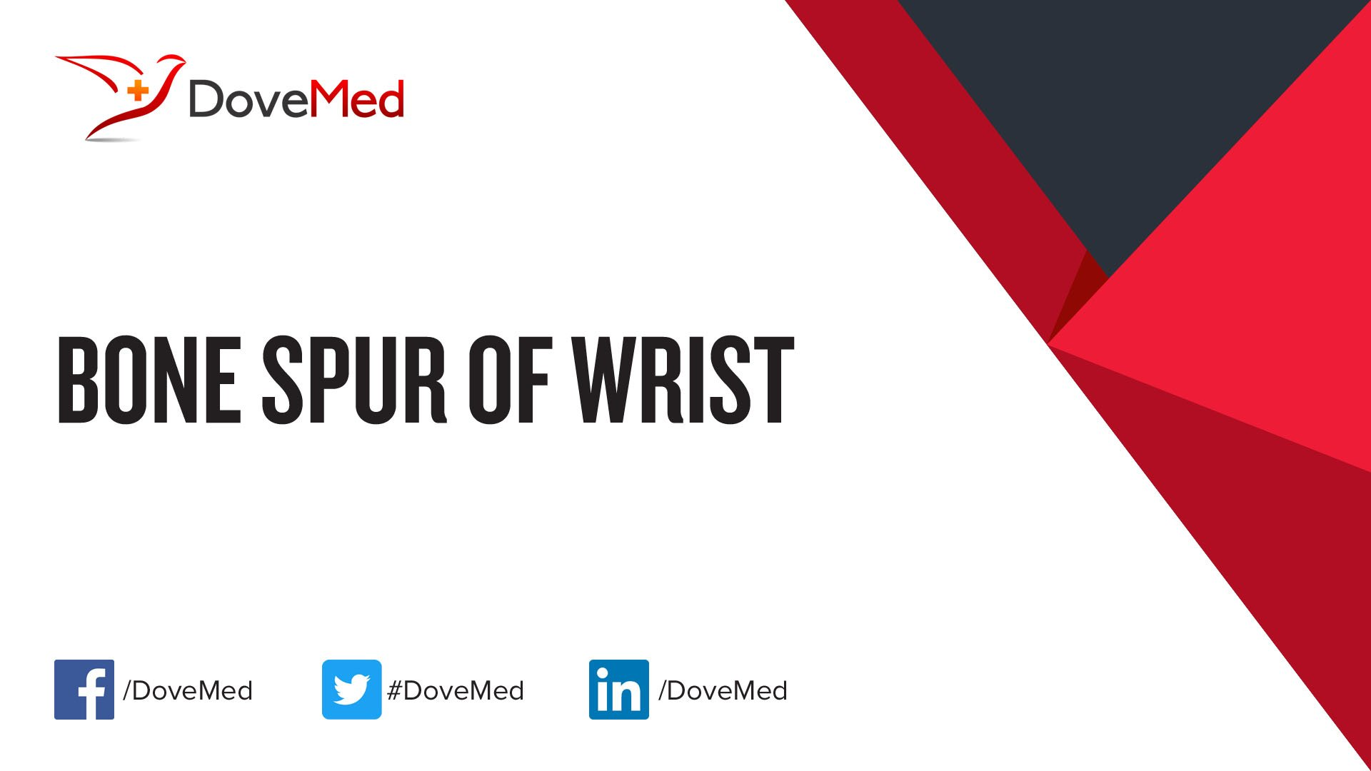 Bone Spur of Wrist