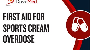 First Aid for Sports Cream Overdose.