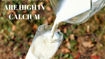 Foods that contain the most calcium.