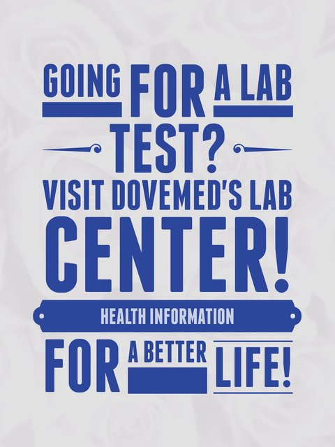 DoveMed Laboratory Procedures Center Ad 1