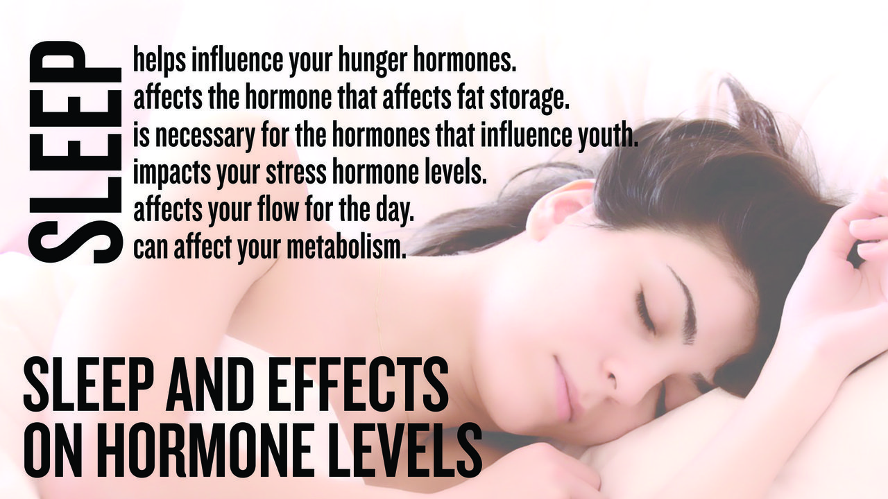 Sleep And Effects On Hormone Levels
