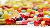 Various medication pills.