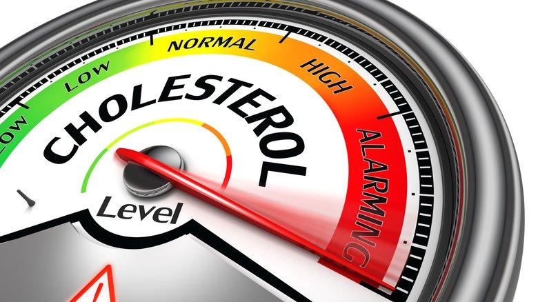 Cholesterol level meter.