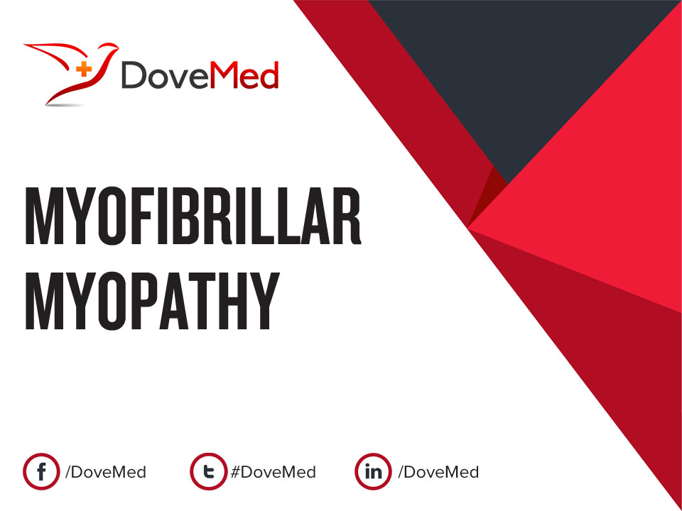 myofibrillar myopathy Myofibrillar myopathy definition myofibrillar myopathies (mfms) are a group of skeletal muscle diseases that are frequently associated with involvement of the heart muscle.