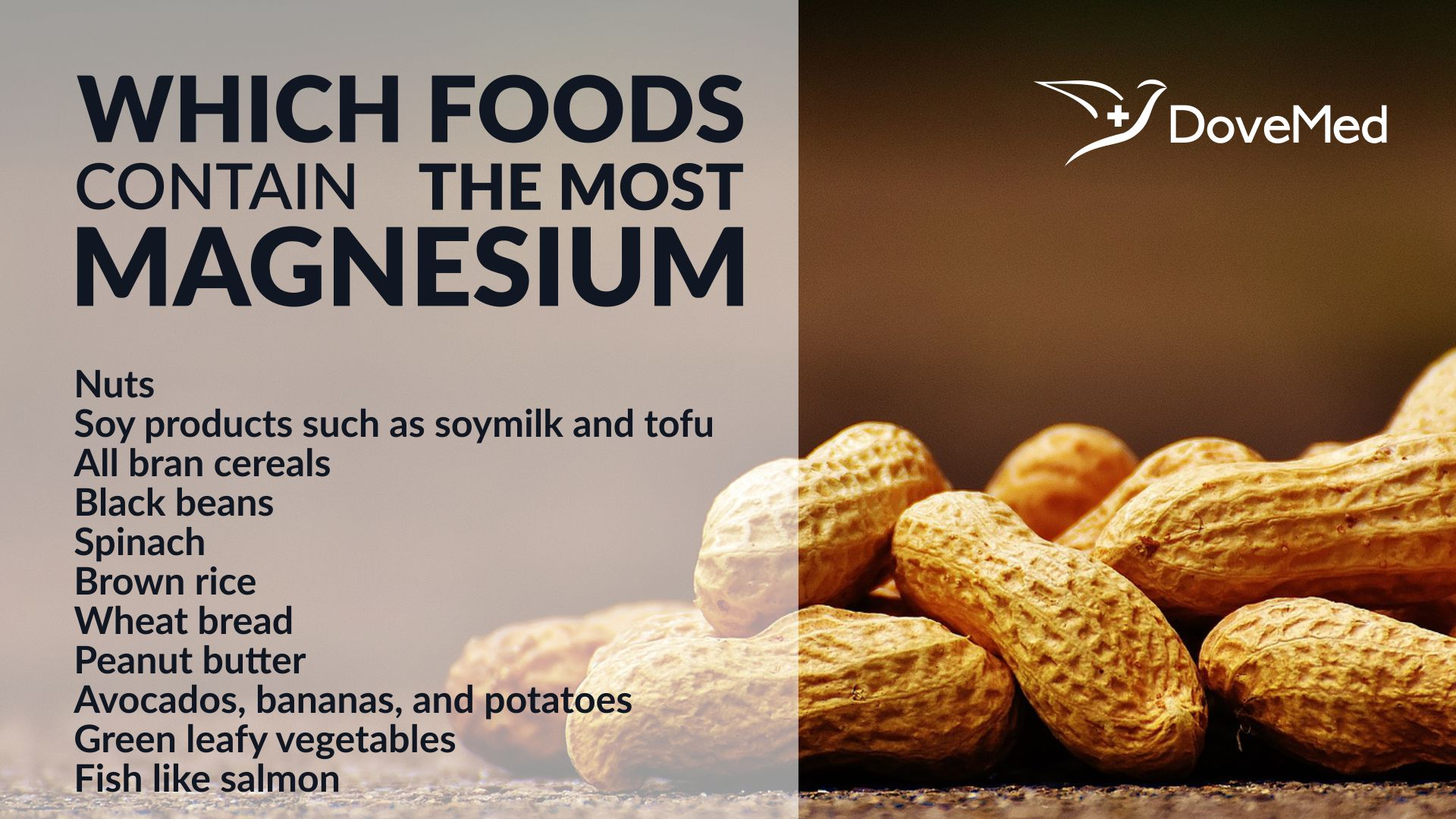 Magnesium Found In Natural Foods